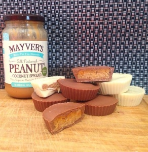 Mayvers Peanut Coconut Chocolate cups