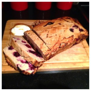 Banana and BlackBerry Loaf