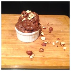Chocolate hazelnut Banana Protein Ice-cream