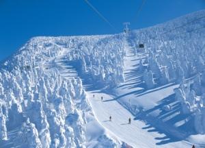 Japanese skiing season