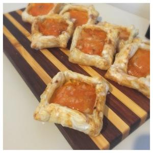 apricot and custard danish
