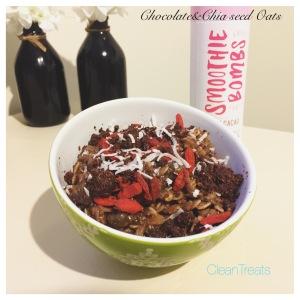 Choc bomb chai oats
