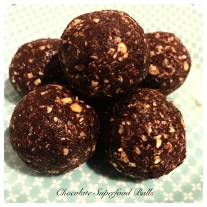 Chocolate superfood balls