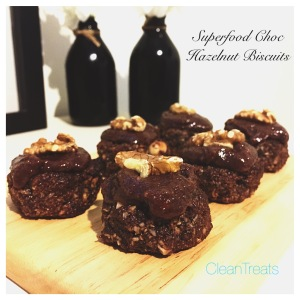 Superfood Choc hazelnut biscuits