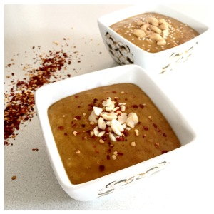 Pumpkin Thai peanut soup 3