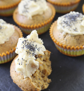 Danille has inspiration on how to use her products on her website as well, and I hope to bring this to you also! check out these amazing Lemon and Poppy Seed cupcakes : http://www.foodtonourish.com.au/recipes/snacks-2/lemon-poppy-seed-cupcakes/