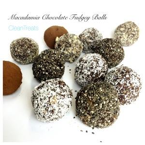 Macadamia chocolate fudgey balls 2