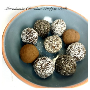 Macadamia chocolate fudgey balls 5