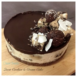 Quest Cookies and Cream Cake 6