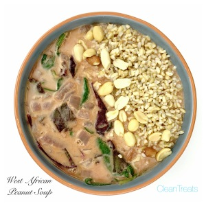 West African Peanut Protein Soup 2