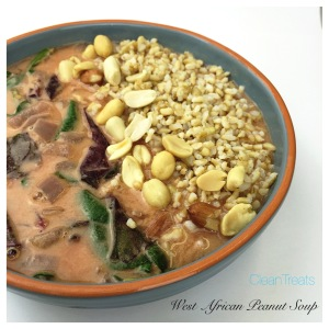 West African Peanut Protein Soup1