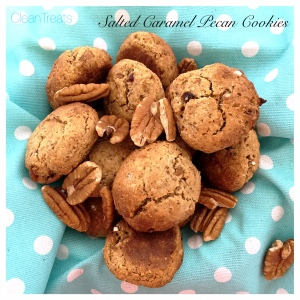 Salted Caramel and Pecan Cookies 1