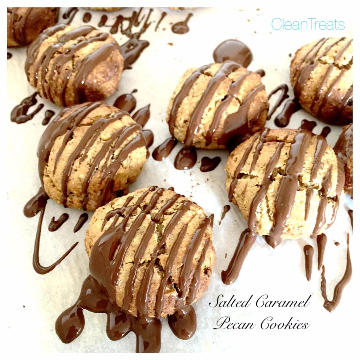 Salted Caramel Pecan Cookies | journeythatislife