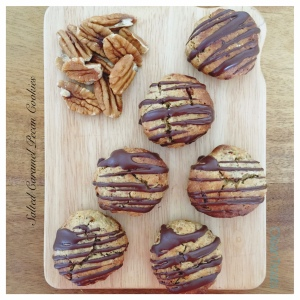 Salted Caramel and Pecan Cookies 4