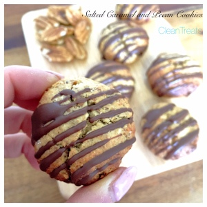 Salted Caramel and Pecan Cookies 6